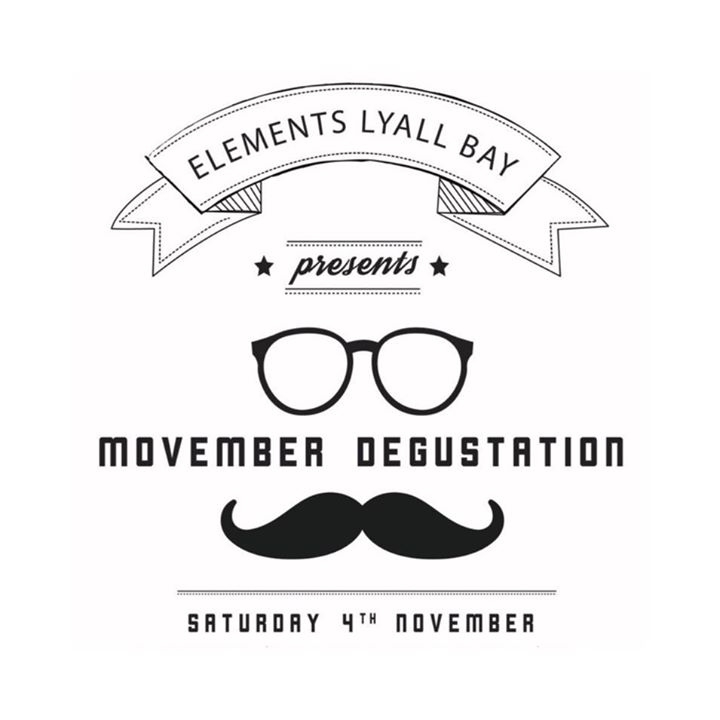 Elements Lyall Bay - Movember Degustation