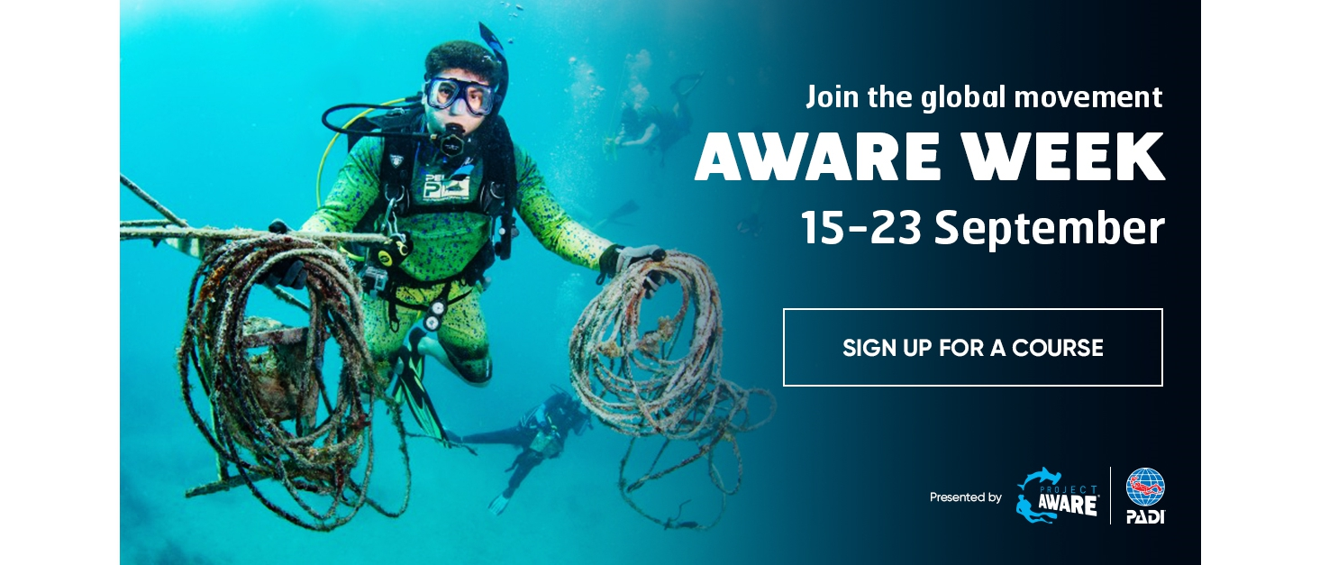 FREE - PADI Project AWARE Specialty Course