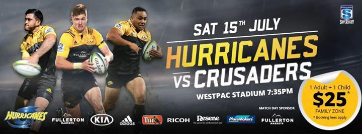 Hurricanes v Crusaders