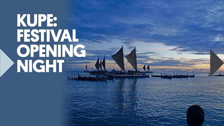 Kupe: New Zealand Festival Opening Night