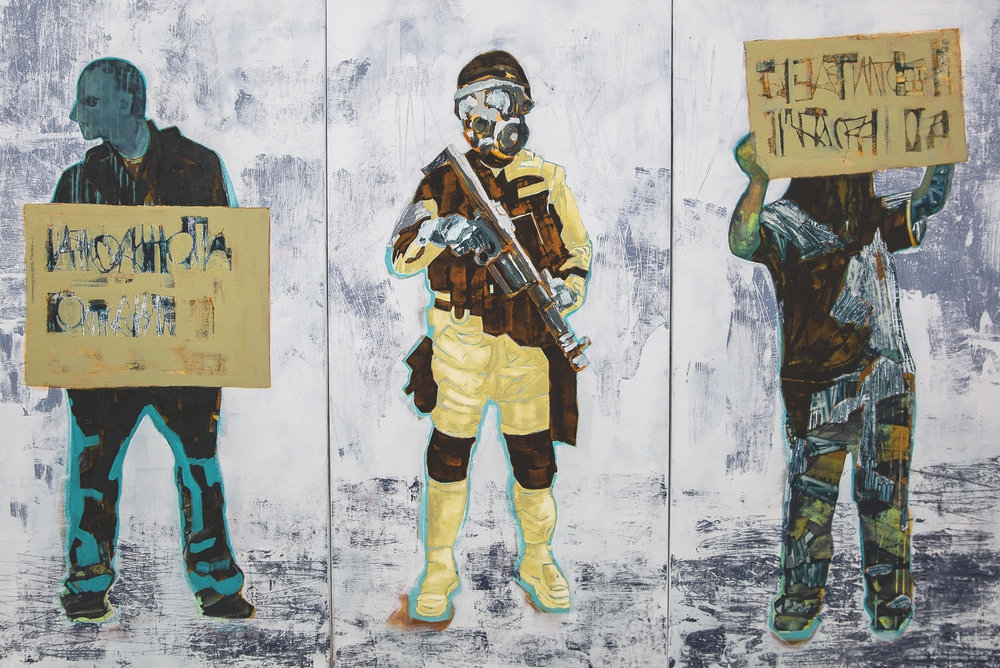 Lisa Chandler: The Dividing Line Exhibition