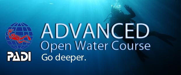 PADI Advanced Open Water Course