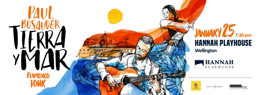 Paul Bosauder - Flamenco Tour