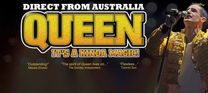 Queen It's A Kinda Magic / New Zealand 2017
