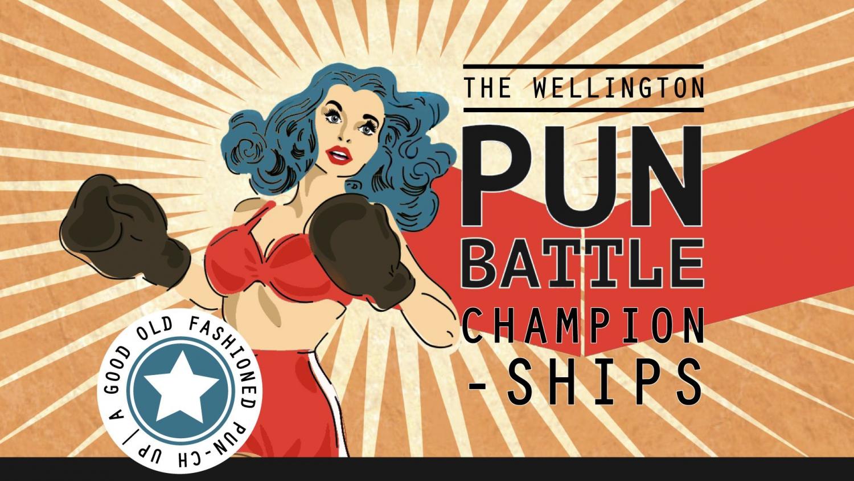The Wellington Pun Battle Grand Finals