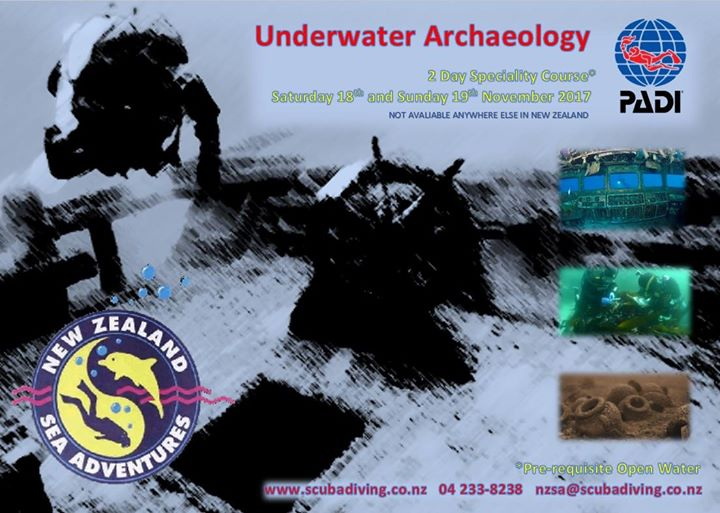 Underwater Archaeology Specialty Course