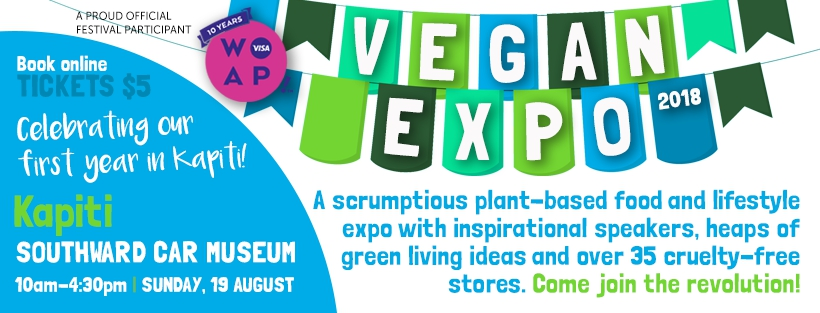 Vegan Expo in Kapiti