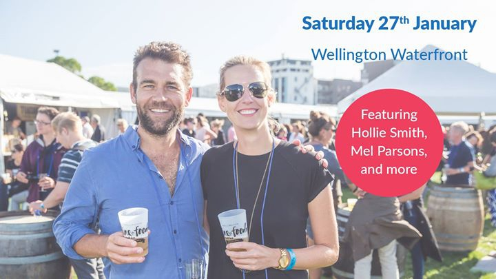 Wellington Wine & Food + Craft Beer Festival