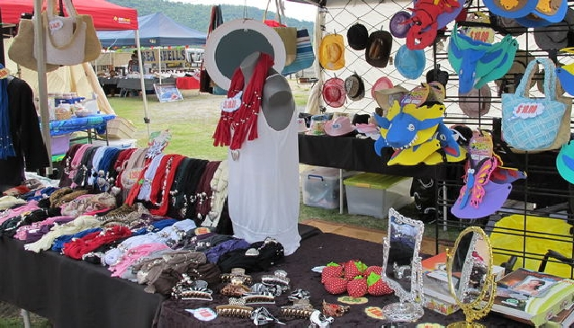 Beach Markets in Paradise