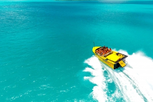 Airlie Beach: Jet Boat Ride and Banana Boat Combo