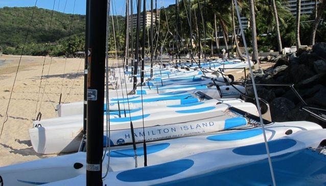 Catamarans, Hamilton Island