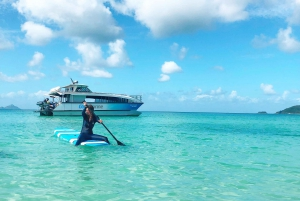 From Airlie Beach: Whitsunday Island Full-Day Tour