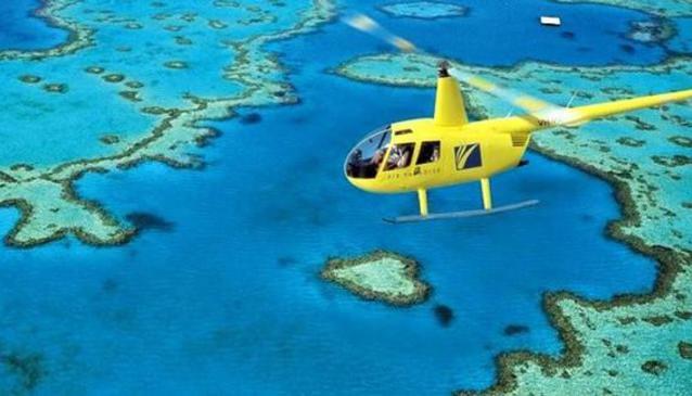 Helireef Whitsunday - Great Barrier Reef & Islands