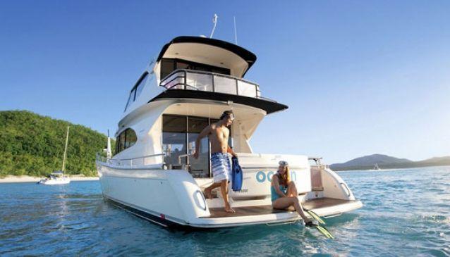 Luxury Motor Boat Hire, Hamilton Island