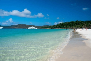 Whitehaven Beach and Daydream Island