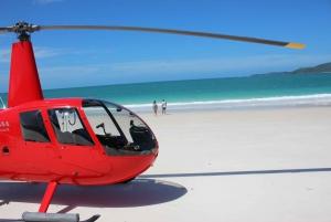 Whitsunday Helicopter Tour: Flight + Whitehaven Landing