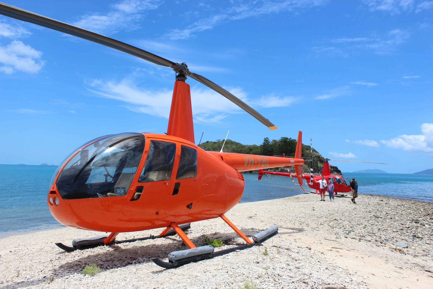 Whitsunday Islands Helicopter Flight and Beach Landing