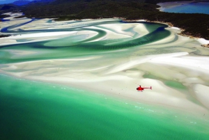 Whitsundays: Great Barrier Reef & Islands Helicopter Flight