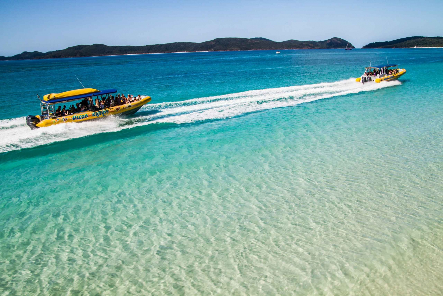 Whitsundays Ocean Rafting Tour: Snorkel, Walk & Whitehaven
