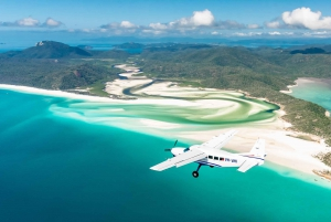 Whitsundays: Ocean Rafting Tour with Snorkel & Scenic Flight