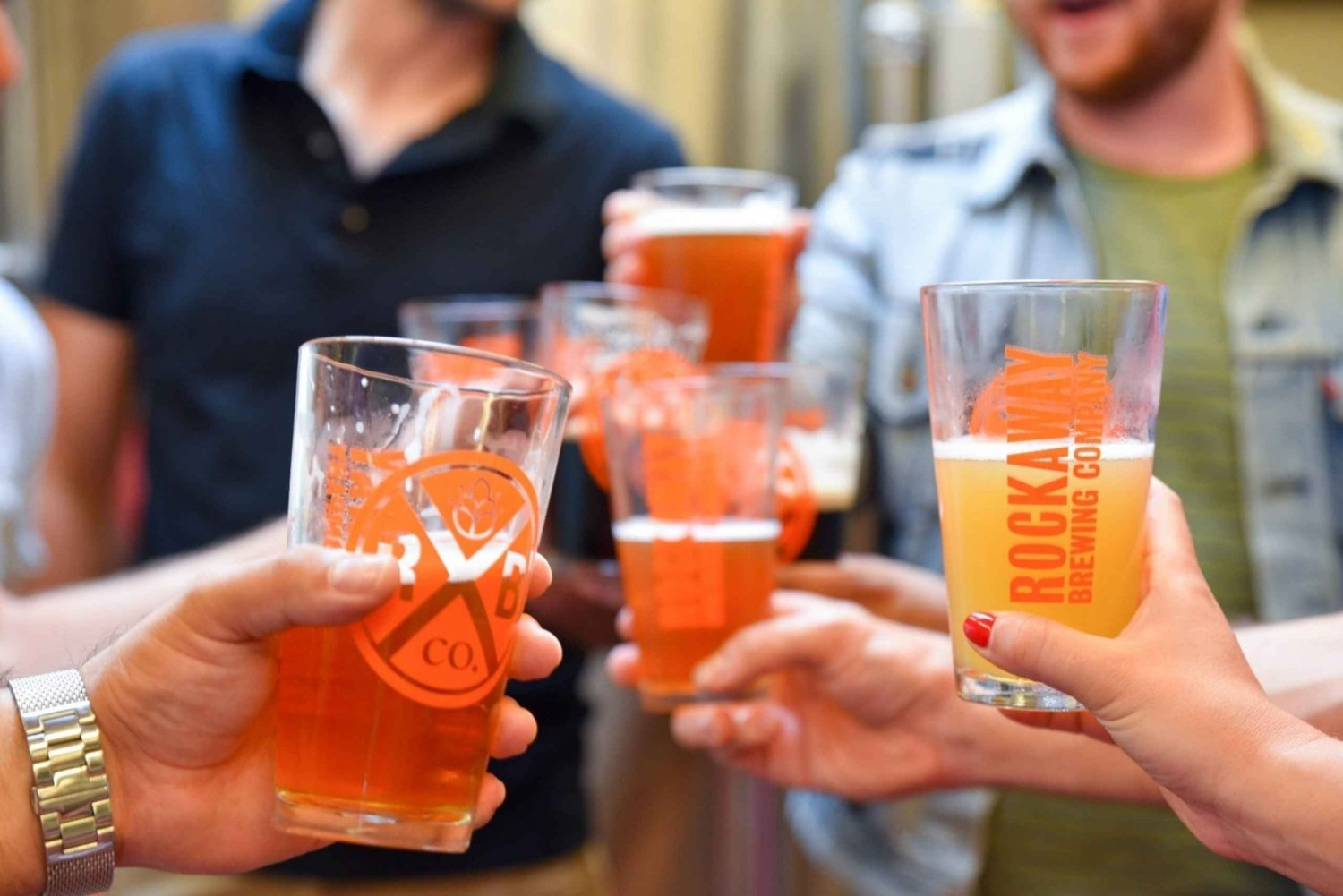 3-Hour NYC Brewery Tour with Beer Tastings & Food