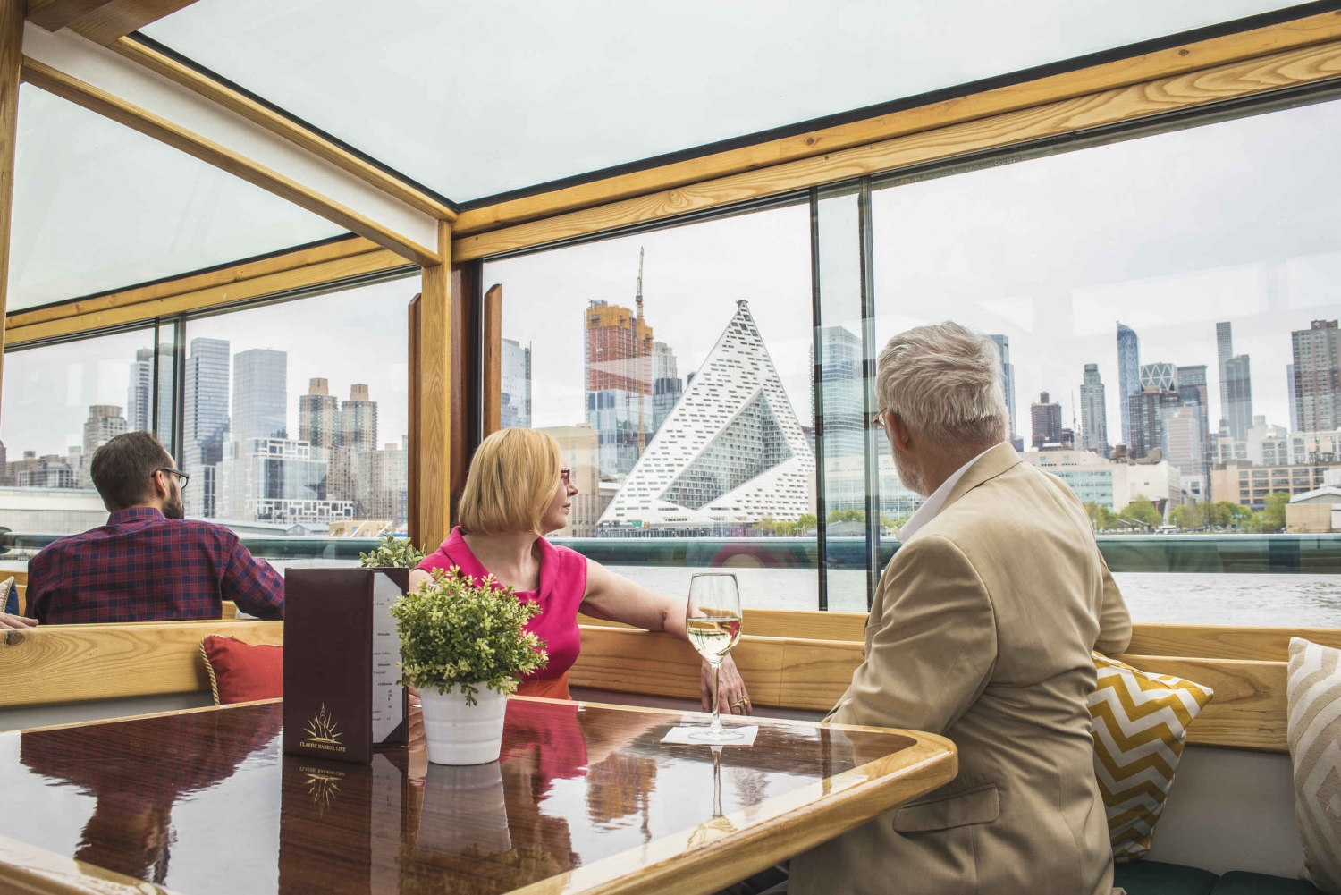 AIANY Lower Manhattan Architecture Tour by Luxury Yacht