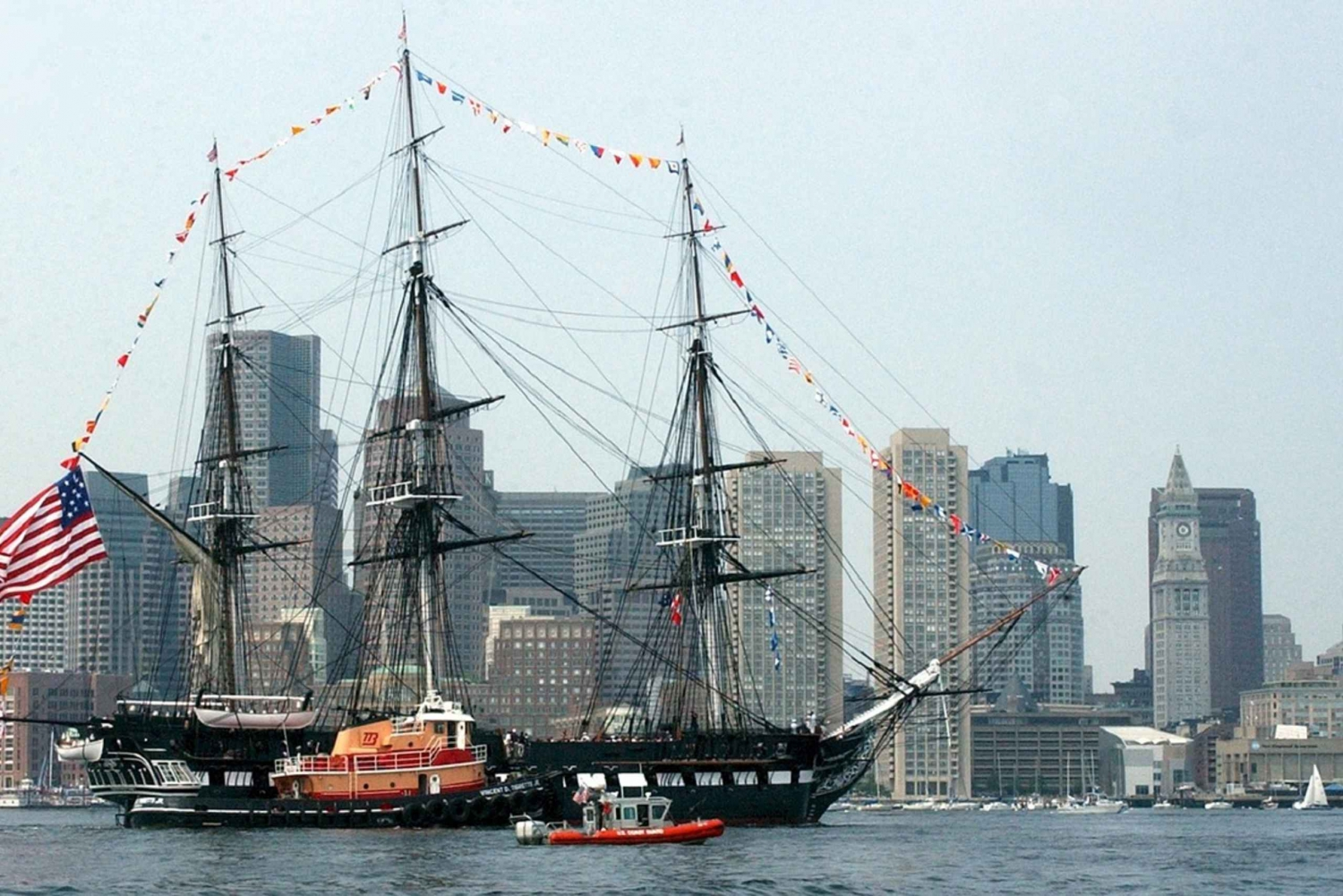 Boston by Rail from New Full-Day Round Trip Tour