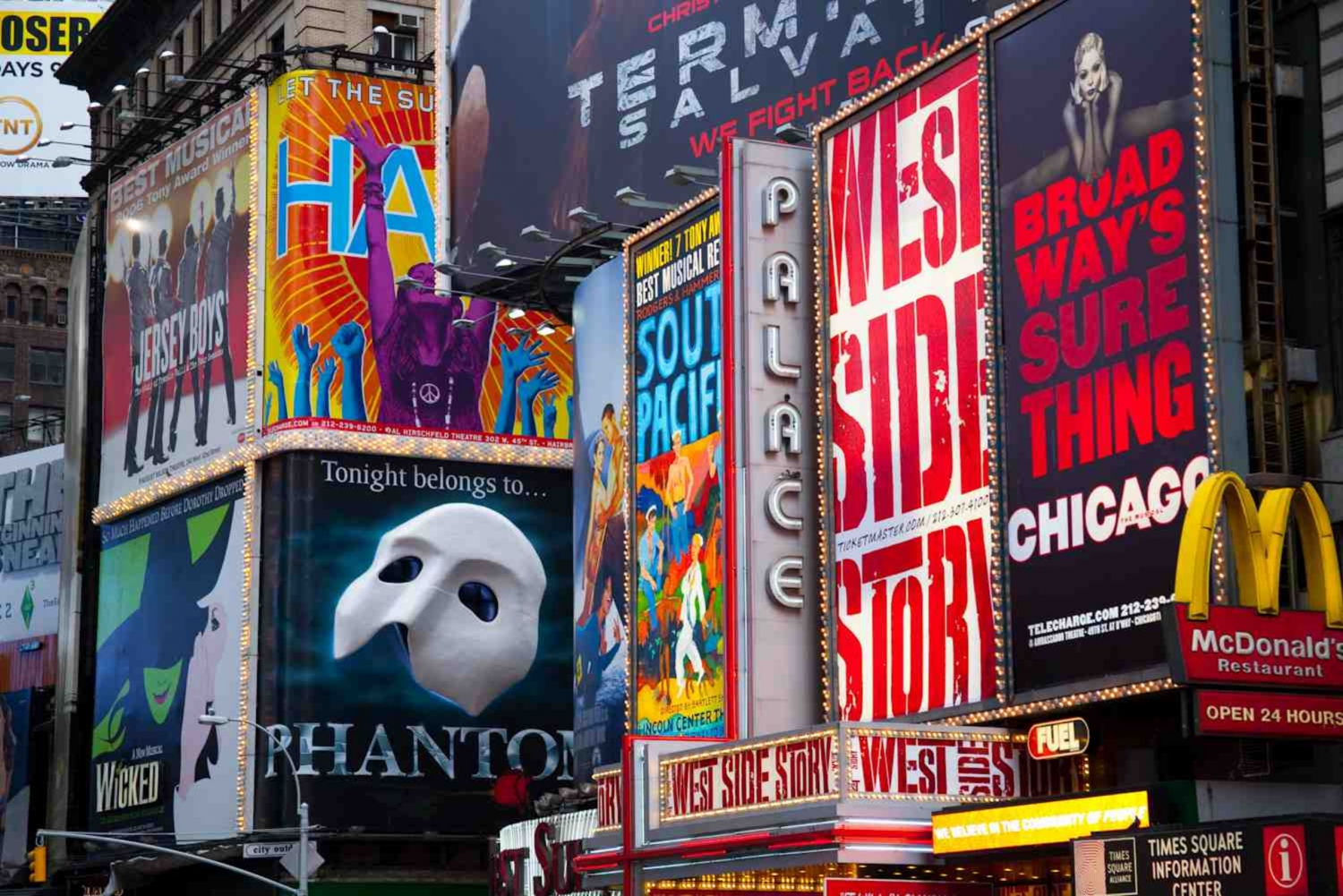 Broadway Theater District Walking Tour in New York