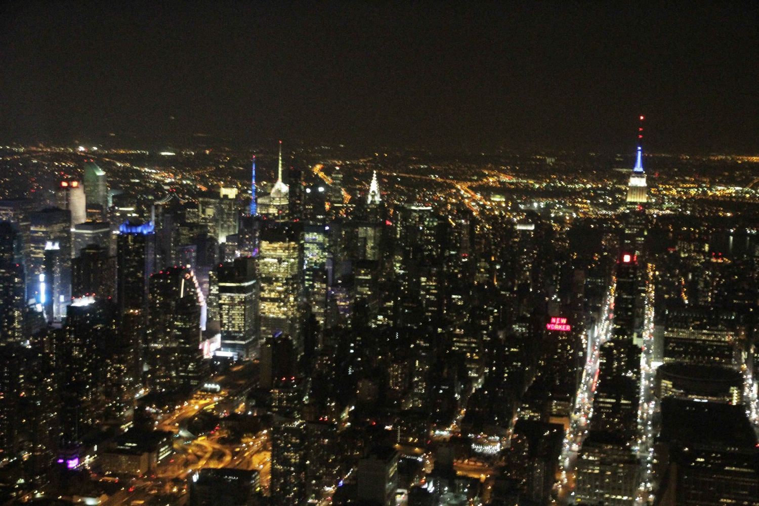 City Lights Experience - Helicopter Tour over NYC by Night
