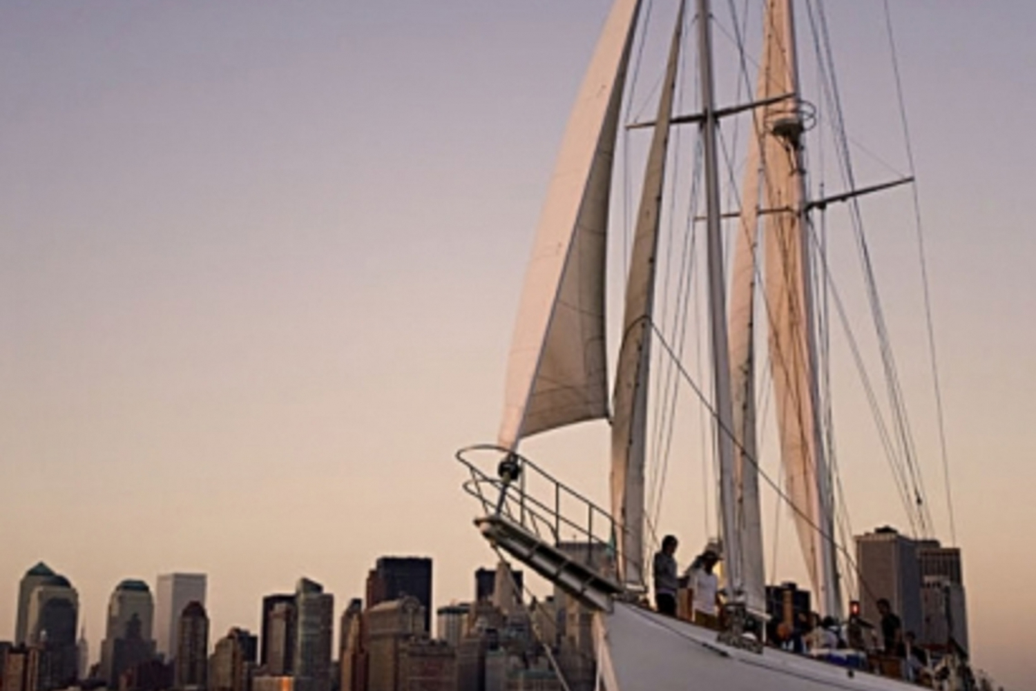 City Lights Sail Aboard the Classic Schooner Shearwater