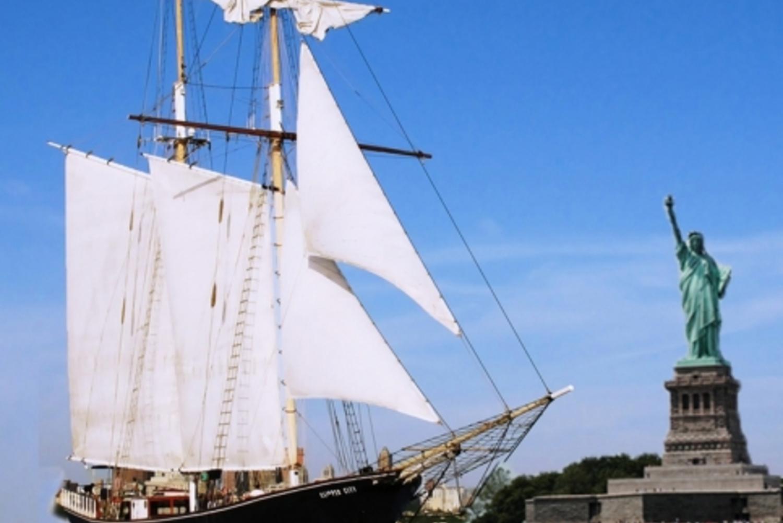 Clipper City Tall Ship Statue Sail