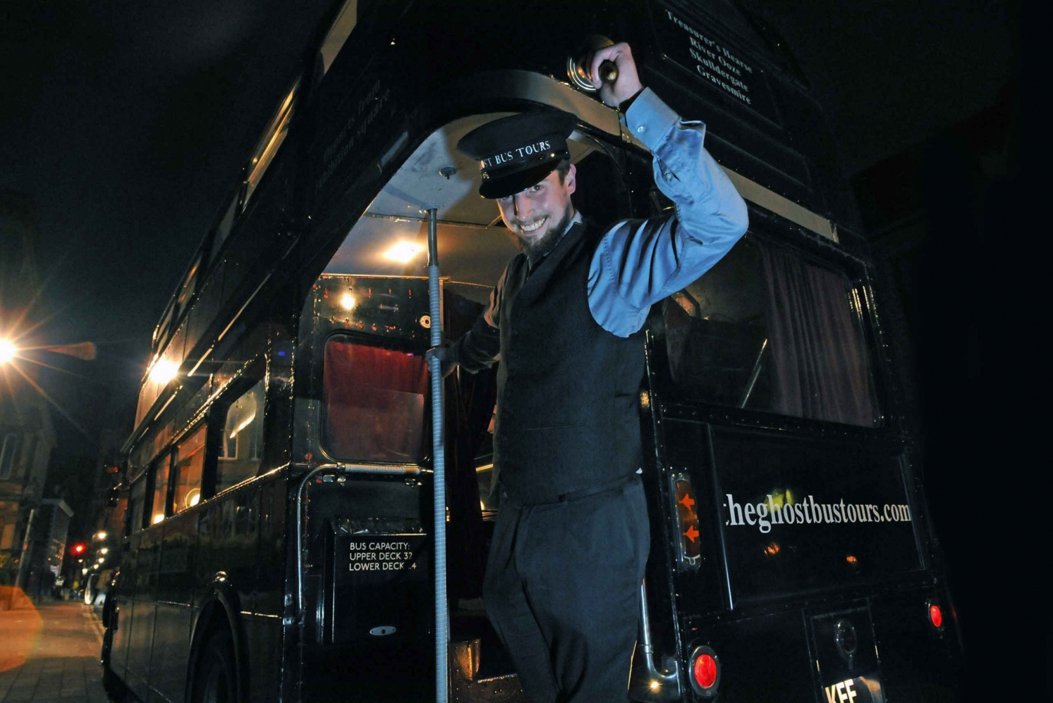 Comedy Horror Show: York Ghost Bus Tour