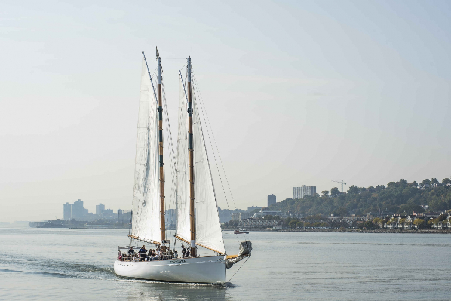 Fall Foliage Schooner Sail Up the Hudson River