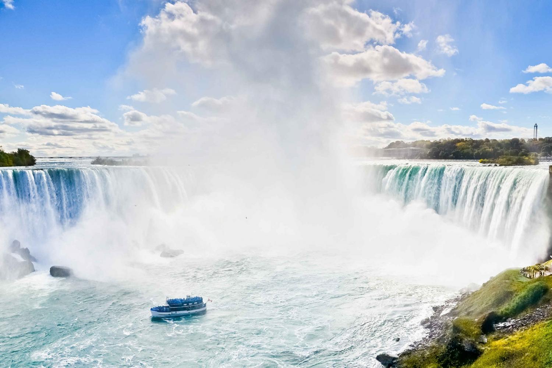 From New 2-Day Niagara Falls Rail and Air Trip