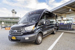 JFK, LGA, and EWR Shared Airport Transfer to Manhattan