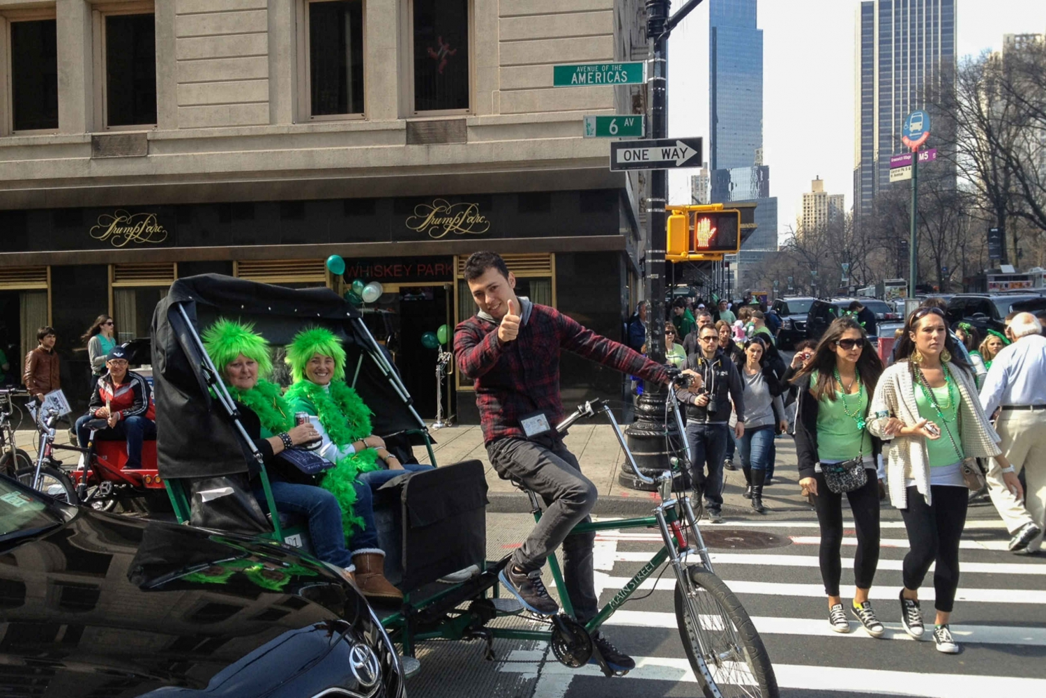 New 1-Hour Central Park Pedicab Tour