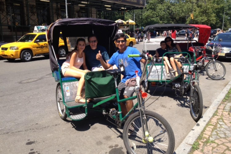 New 2-Hour Central Park Pedicab Tours