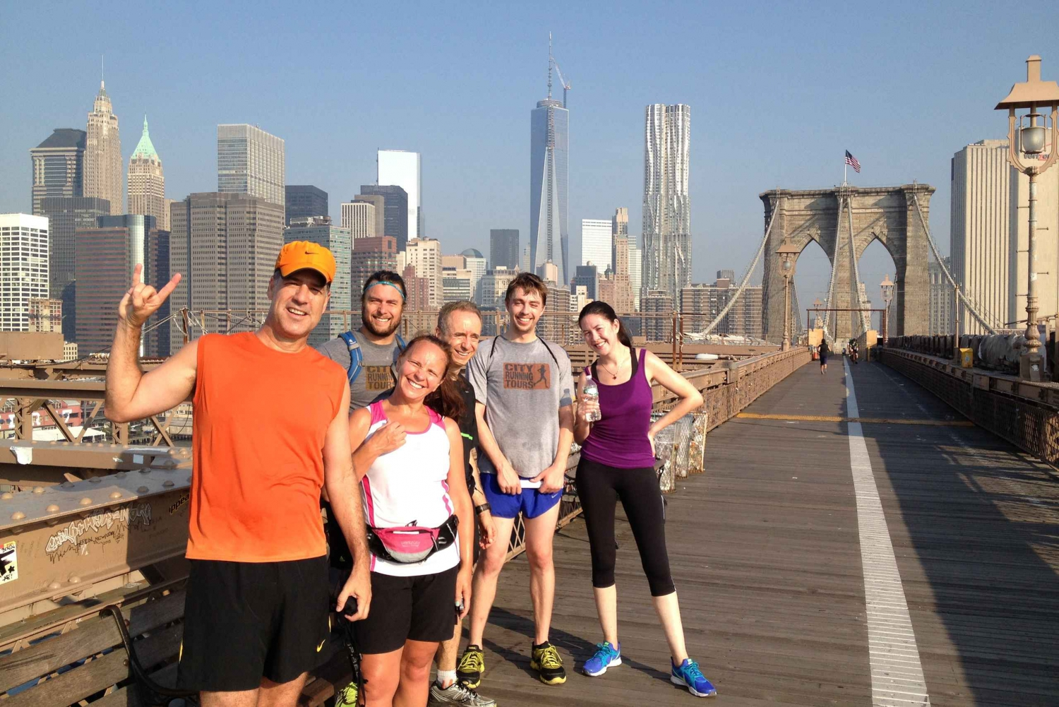 New Brooklyn Bridge City Running Tour
