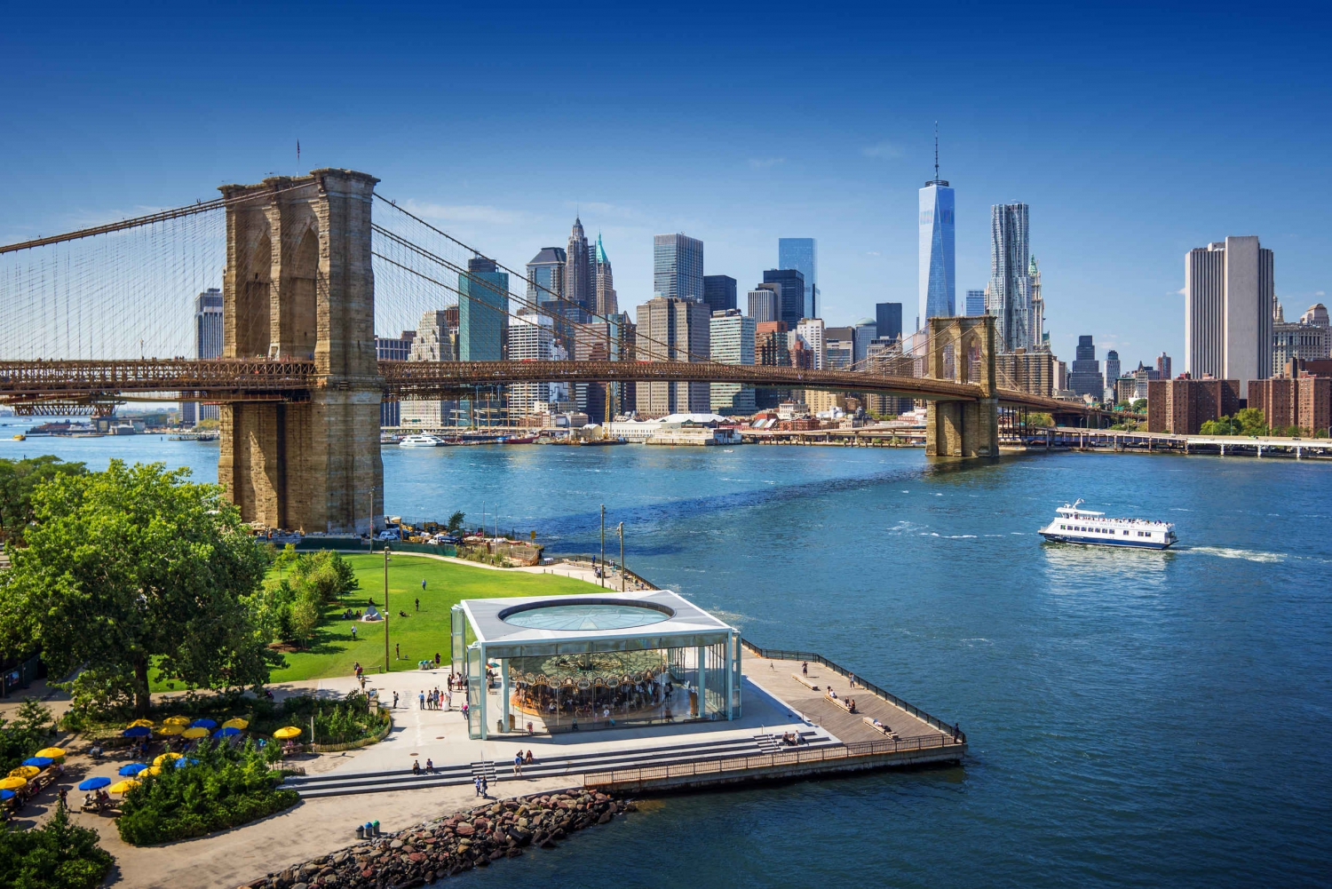 New Brooklyn Bridge Live Guided Bike Tour