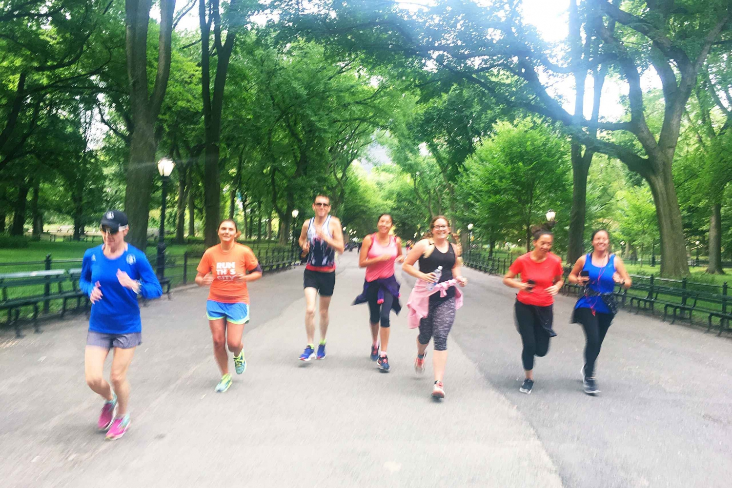 New Central Park City Running Tour