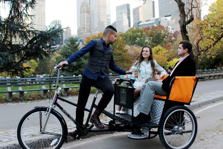 New Central Park Tour by Pedicab