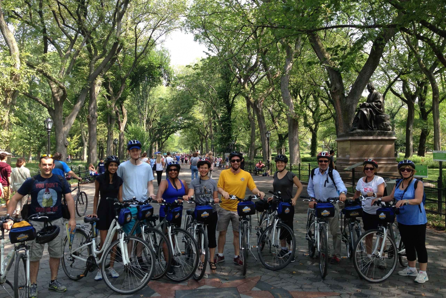New Guided 2-Hour Central Park Bike Tour
