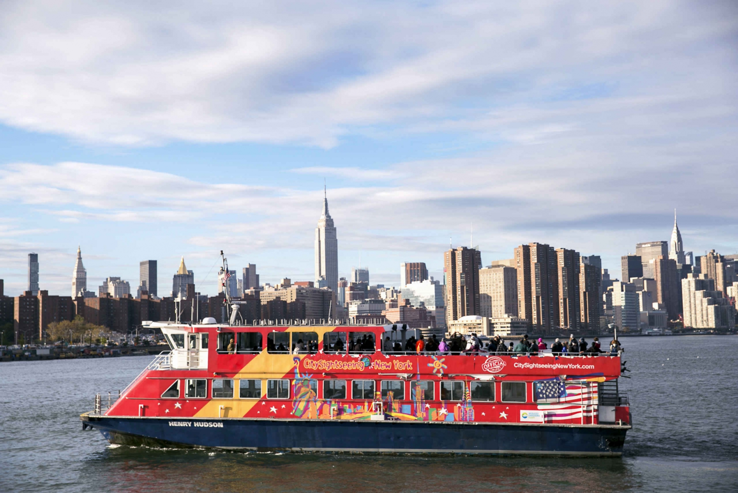 New Hop-on Hop-off Ferry and One World Observatory