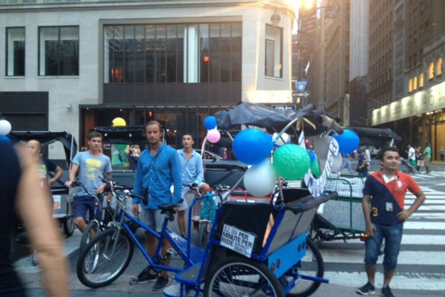 New Midtown Pedicab Rickshaw Tour