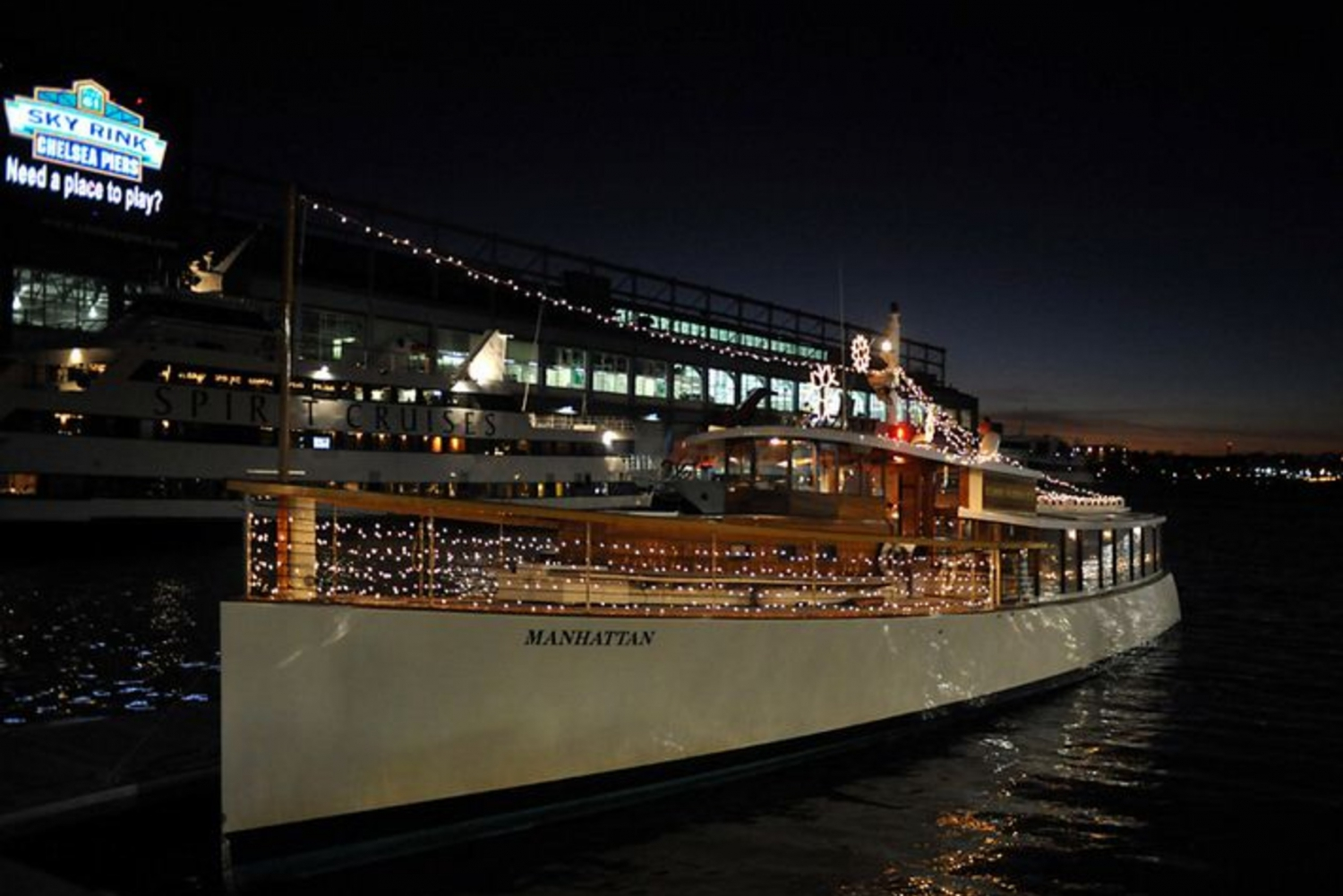 New Year's Eve Fireworks Cruise and Champagne Tasting