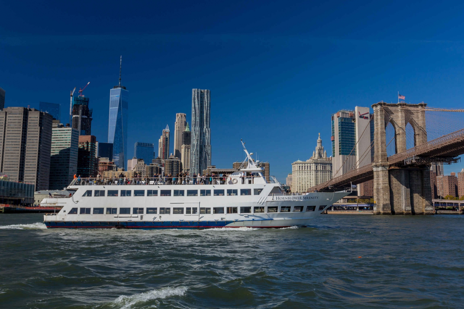 New York 1-Hour Sightseeing Cruise with Commentary