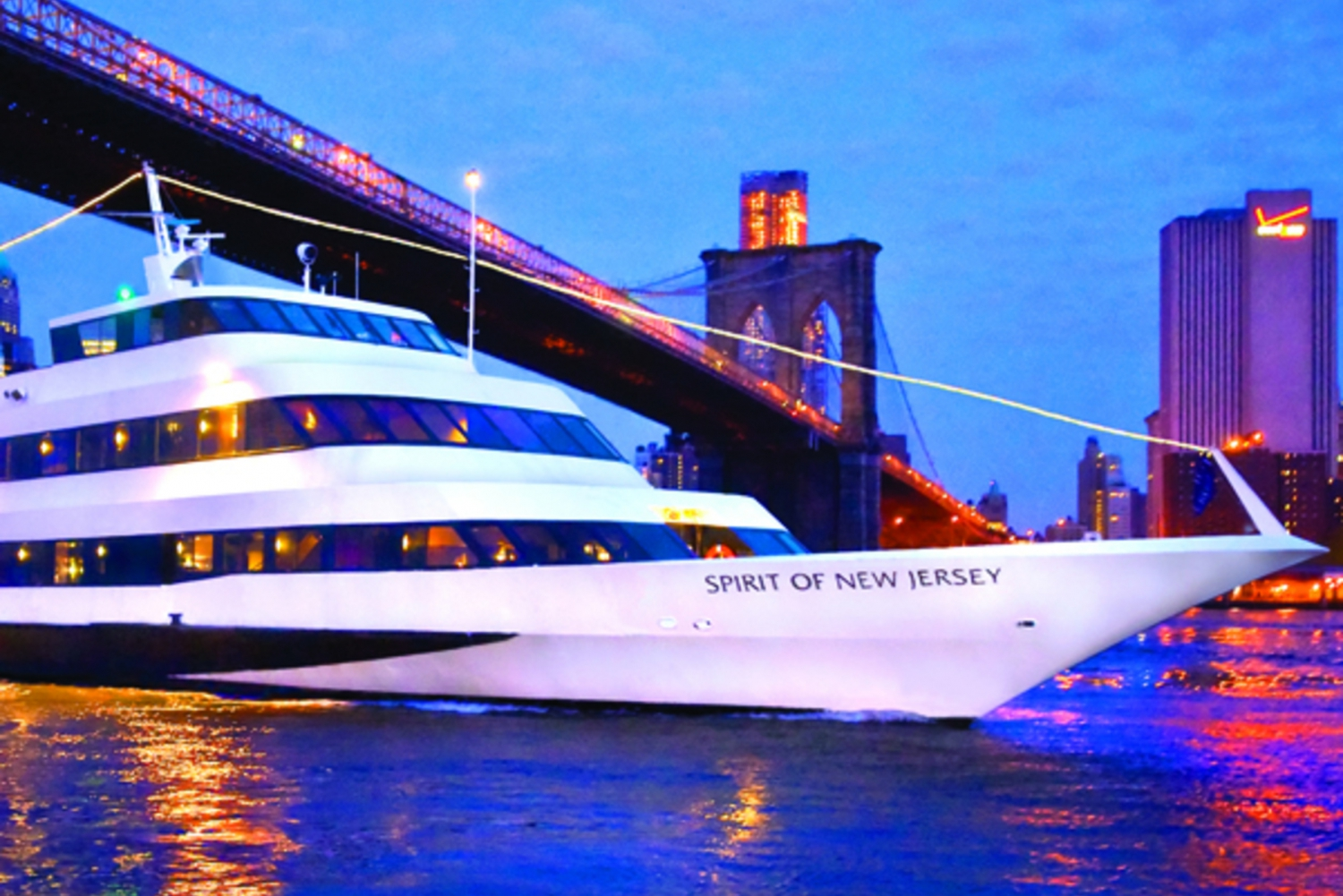 New York Buffet Lunch Cruise from New Jersey