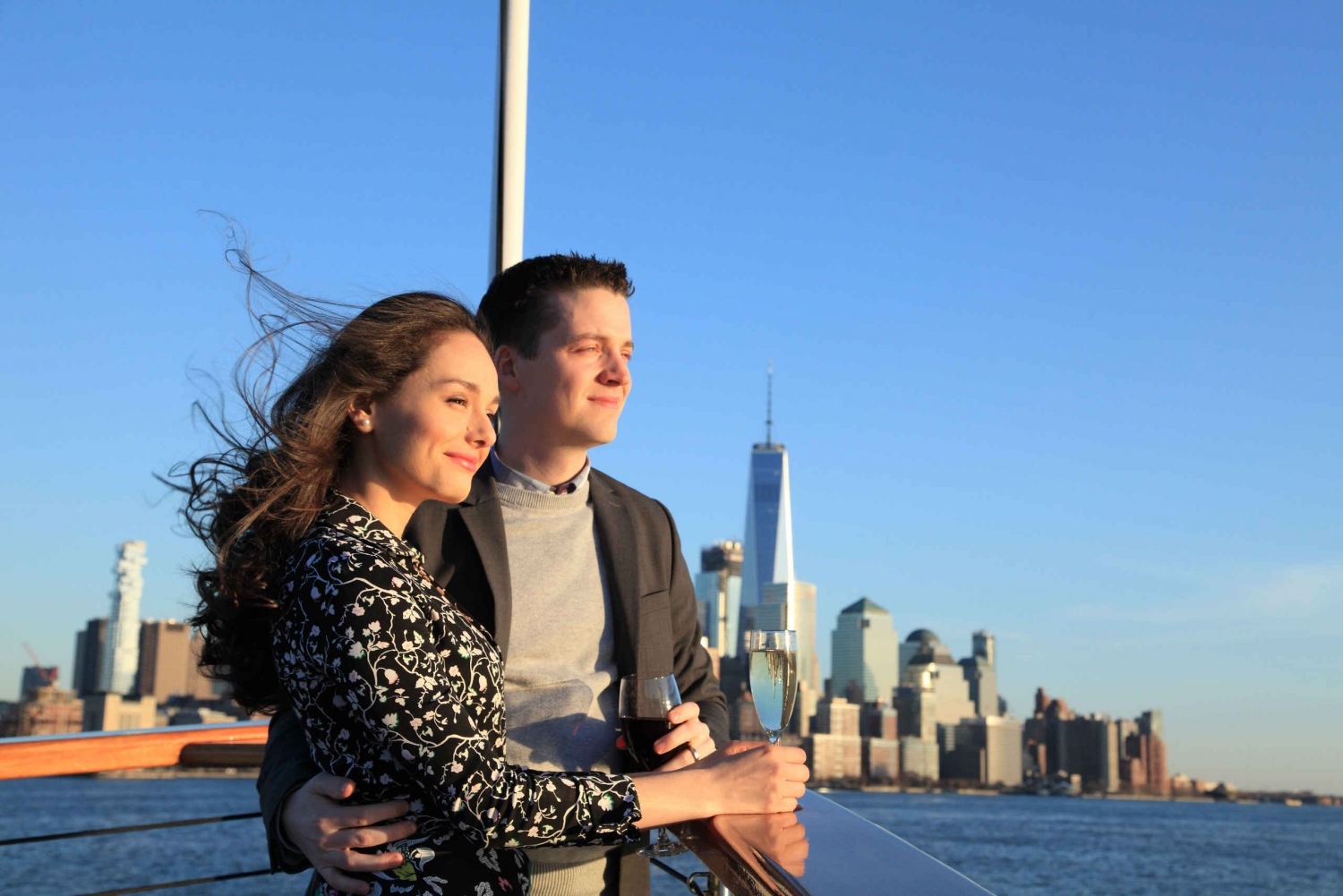 New York City: Champagne Sunset Yacht Cruise