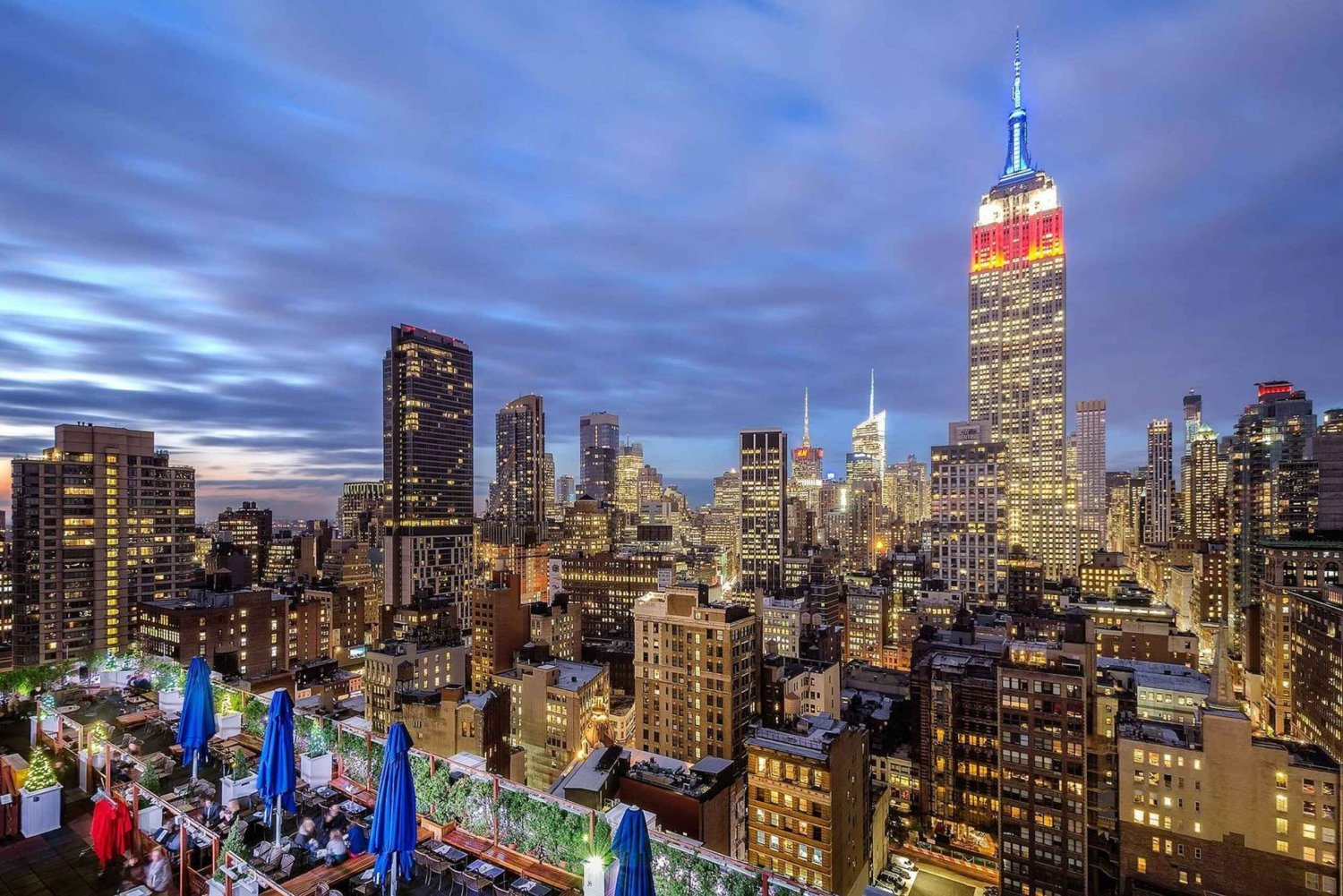 New York City: Evening Drinks at Rooftop Bars and Lounges