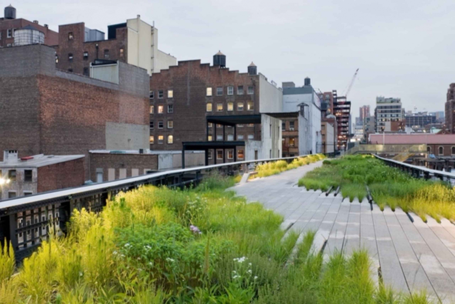 New York City High Line and Chelsea Market Walking Tour